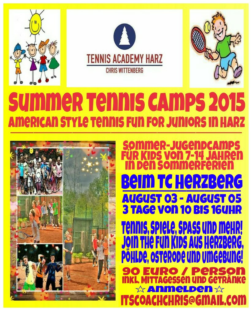 2015 SummerTennisCamp