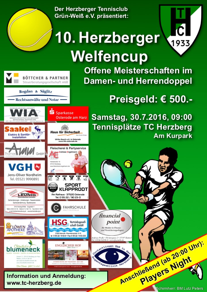 welfencup plakat flyer2016