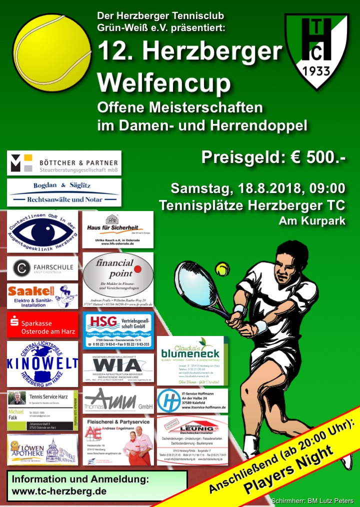 welfencup plakat flyer 2018